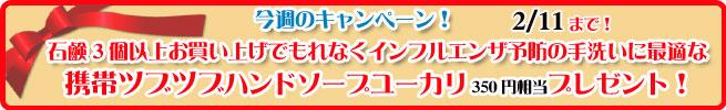 手作り石鹸アンティアン130204キャンペーンバナー