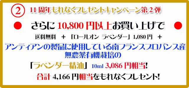 手作り石鹸アンティアン1710今月のキャンペーンcopy2