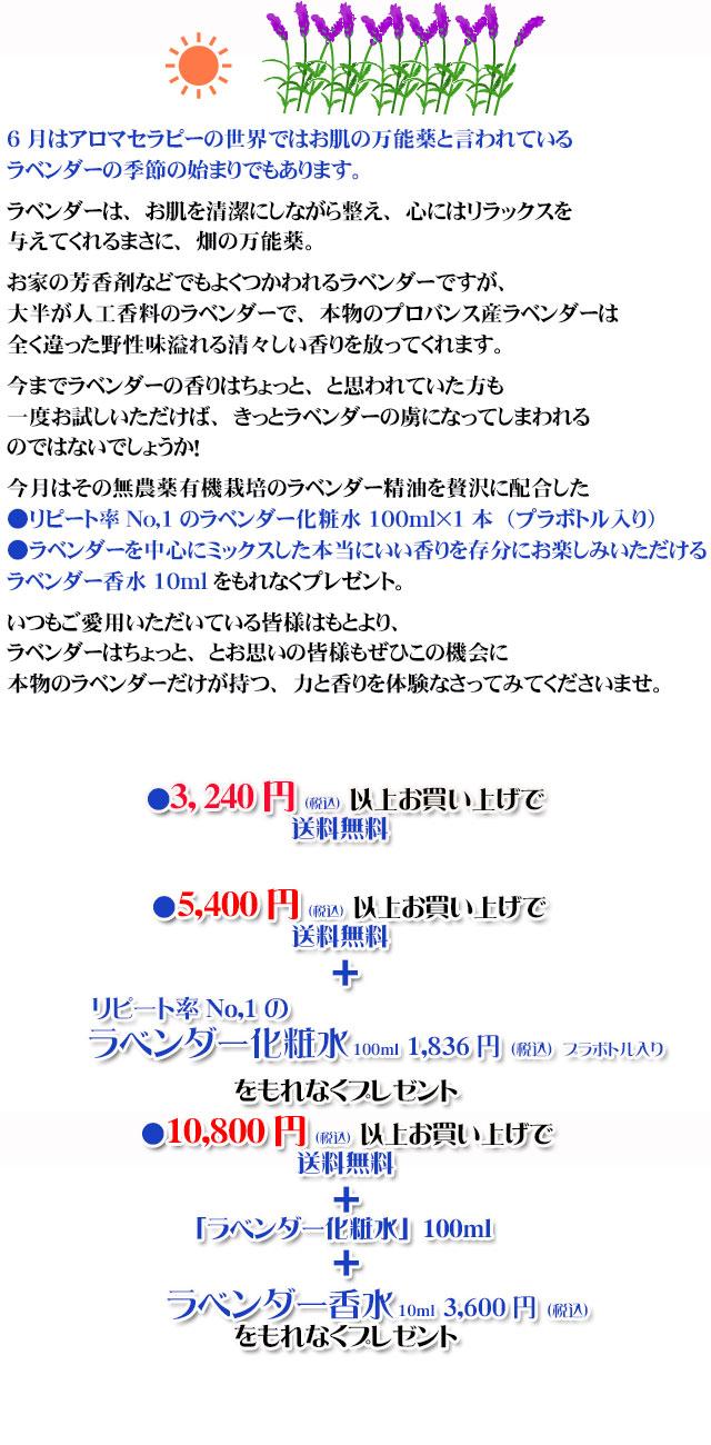 オーガニック化粧品手作り石鹸アンティアン1806今月のキャンペーンcopy