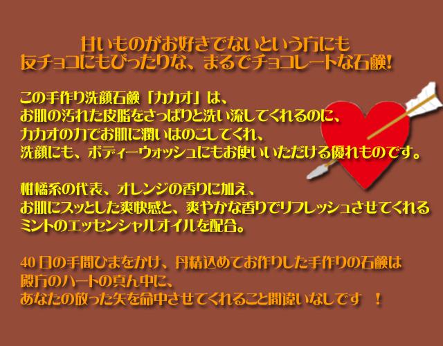 手作り石鹸アンティアン2013バレンタインカテゴリーcopy