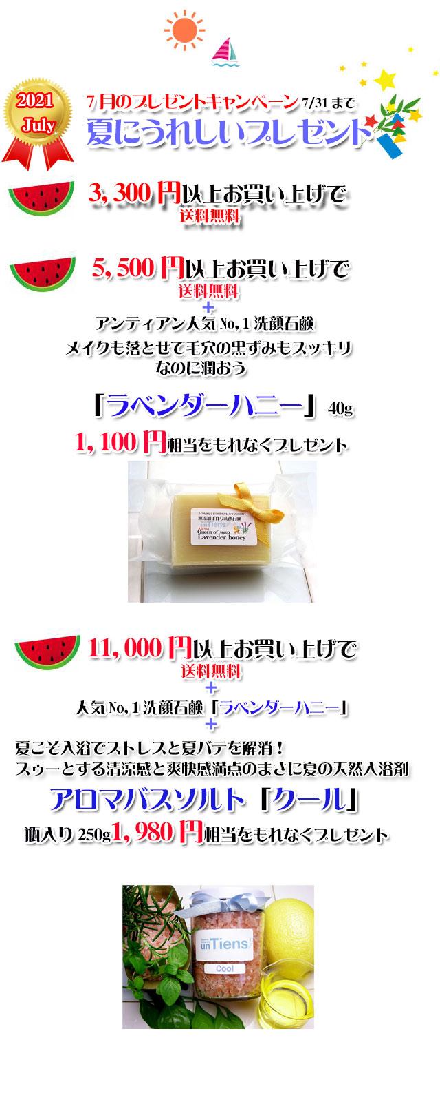 手作り石鹸アンティアン2107キャンペーンcopy