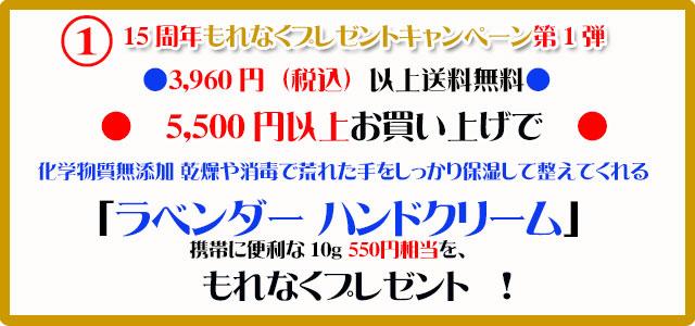 オーガニック化粧品手作り石鹸アンティアン2110今月のキャンペーンcopy1