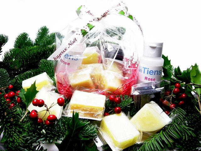 手作り石鹸アンティアンの2012年クリスマスギフトお試しセット写真