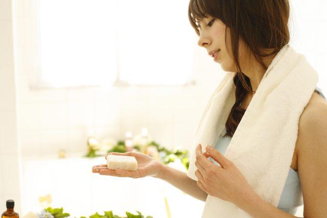 手作り洗顔石鹸漢方用モデル