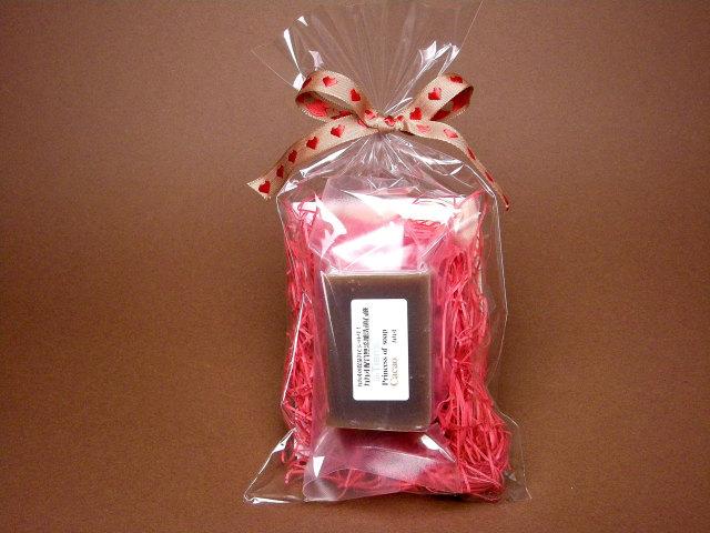 オーガニック化粧品手作り石鹸アンティアンバレンタインチョコレート石鹸1個