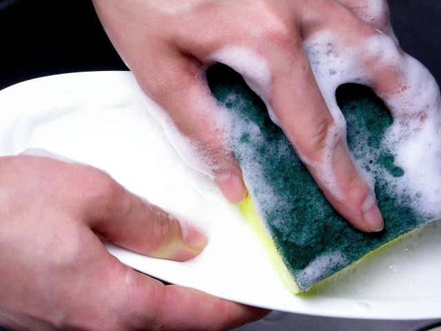 手作り石鹸キッチンソープ洗い2