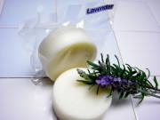 手作り固形ボディー石鹸アンティアンスーパーササボン「ラベンダー100g」