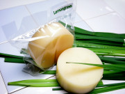 手作り固形ボディー石鹸アンティアンスーパーササボン「レモングラス100g」