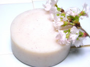 アンティアン手作り石鹸スーパーササボン桜写真